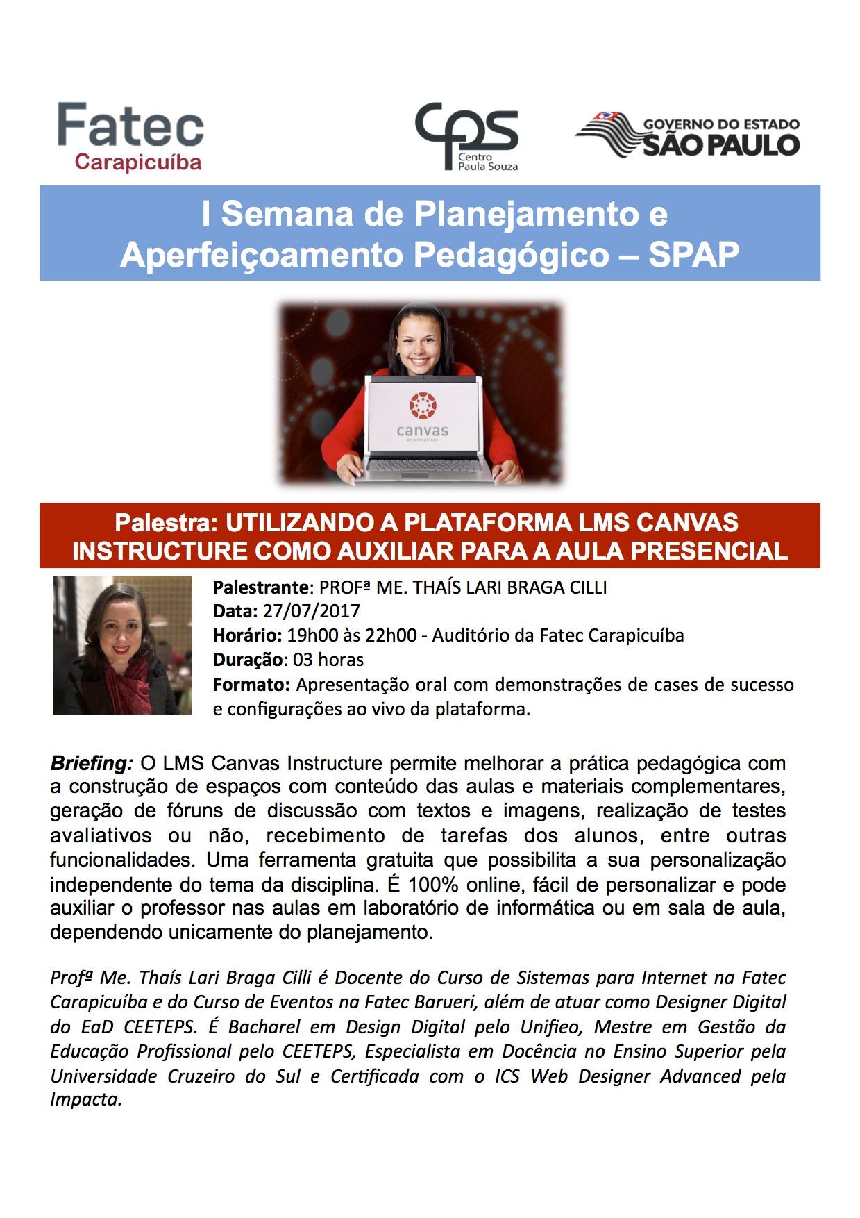 I SEMANA DE PLANEJAMENTO E APERFEICOAMENTO PEDAGOGICO_CANVAS PALESTRA.ppt