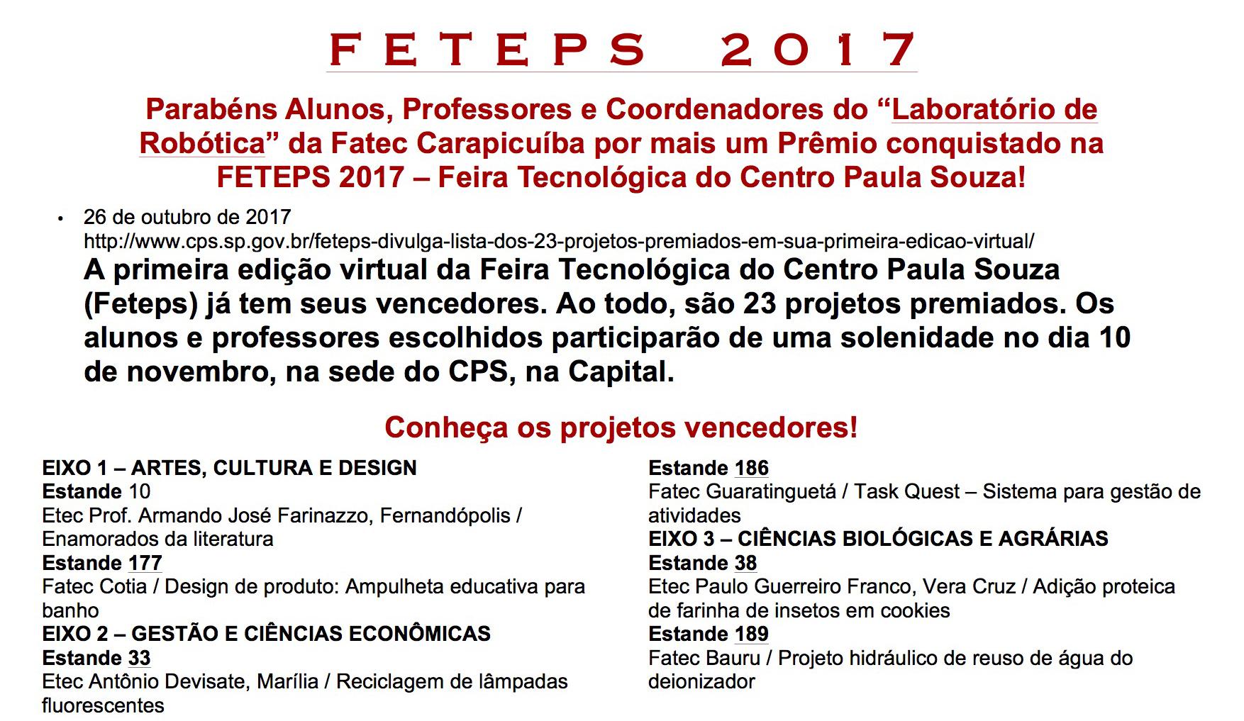 PREMIO FETEPS 2017_FATEC CARAPICUIBA1